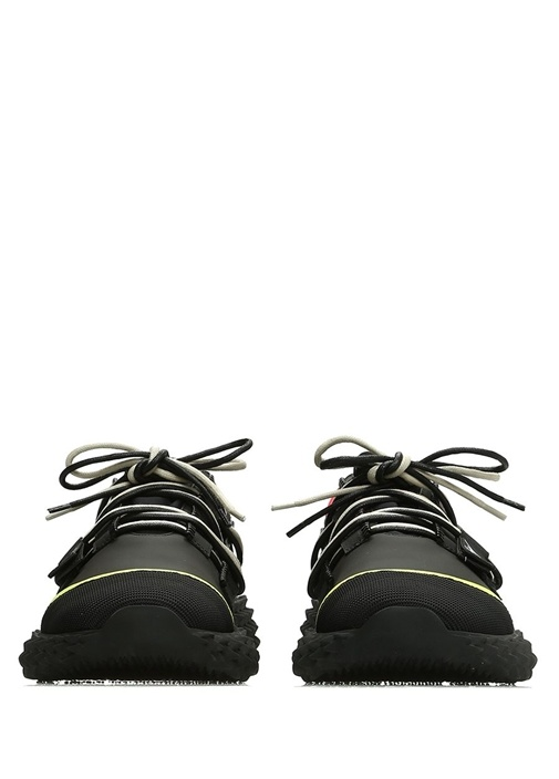 Urchin Siyah Taban Detaylı Erkek Deri Sneaker