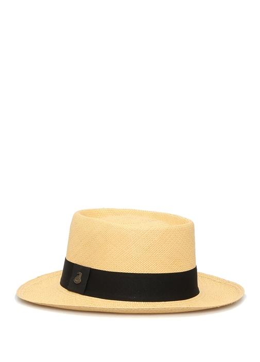 Dumont Bej Kemer Detaylı Kadın Hasır Şapka