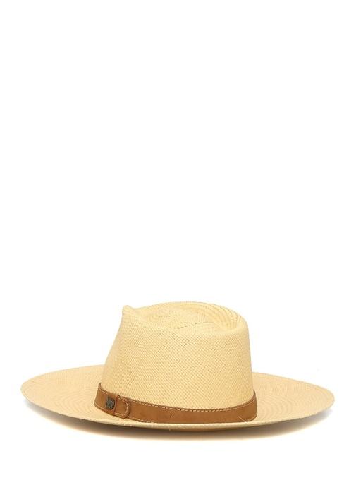 Don Belisario Bej Kadın Hasır Şapka