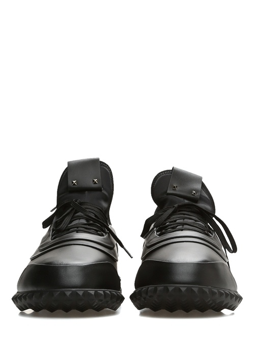 Siyah Taban Detaylı Erkek Sneaker