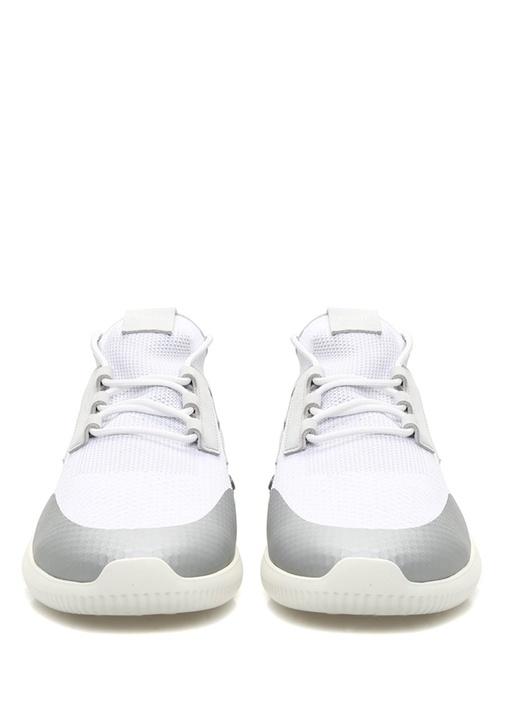 Gri Beyaz Ribli Erkek Sneaker
