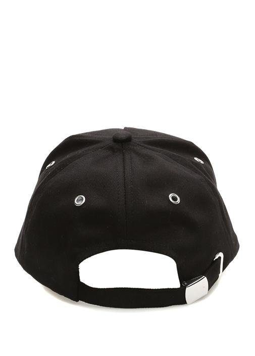 Siyah Logolu Erkek Şapka