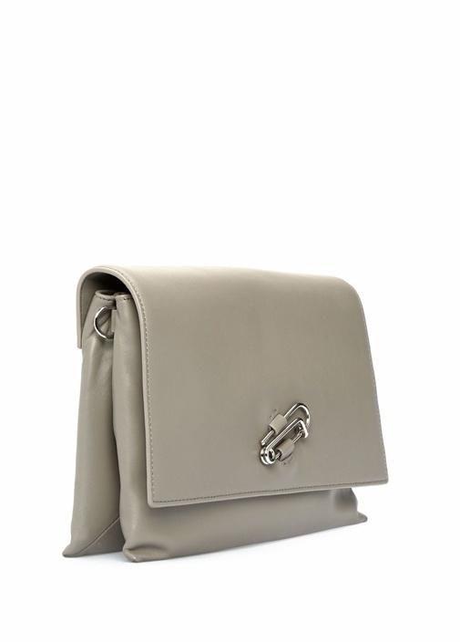 Nancy Gri Kadın Deri Çanta
