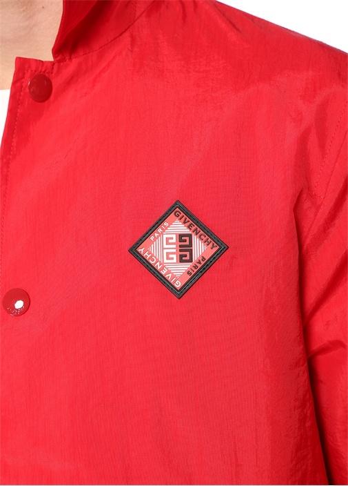 Kırmızı İngiliz Yaka Logolu Mont