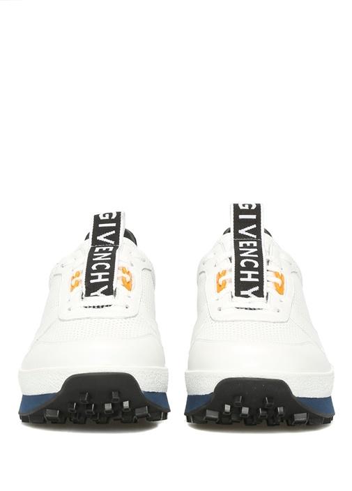 TR3 Beyaz Delikli Erkek Deri Sneaker