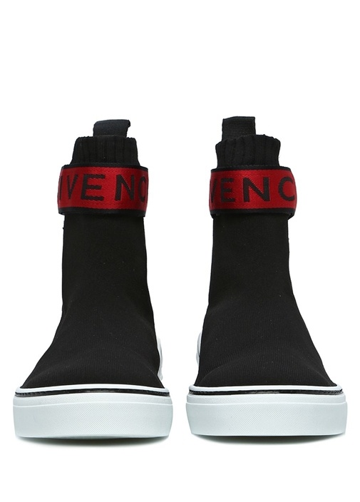George Siyah Logolu Çorap Formlu Erkek Sneaker
