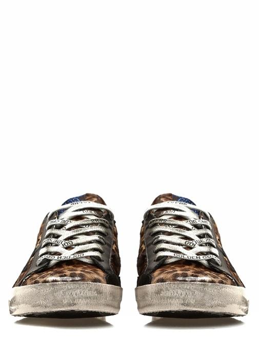 Superstar Kahverengi Kadın Deri Sneaker
