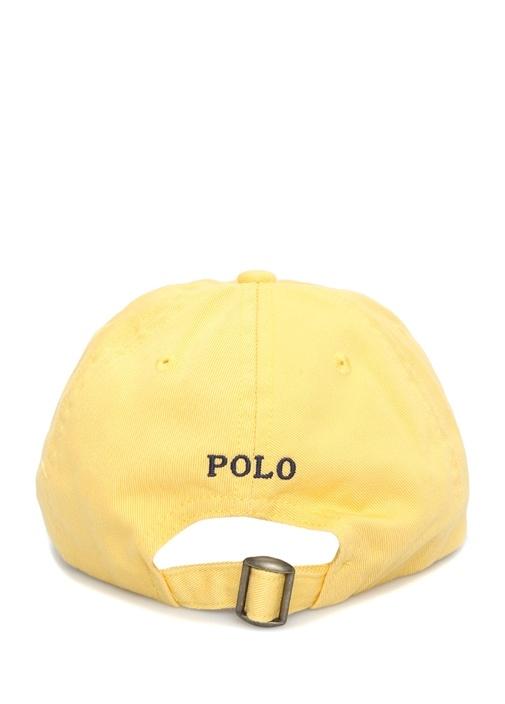 Classic Sarı Logo Nakışlı Erkek Çocuk Şapka