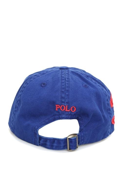 Big Pony Mavi Logo Nakışlı Erkek Çocuk Şapka