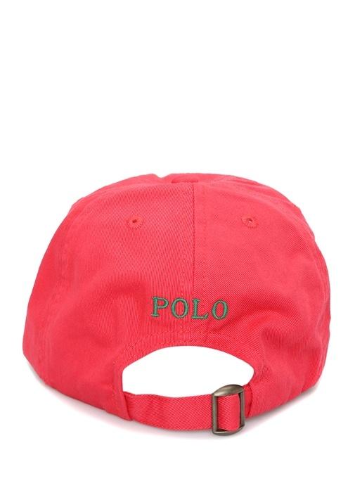 Classic Kırmızı Logo Nakışlı Erkek Çocuk Şapka