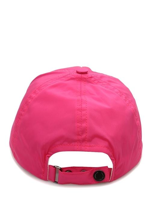 Pembe Logolu Kadın Şapka