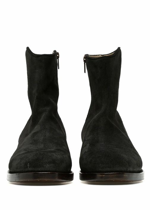 Pasa Dina Siyah Erkek Süet Ayakkabı