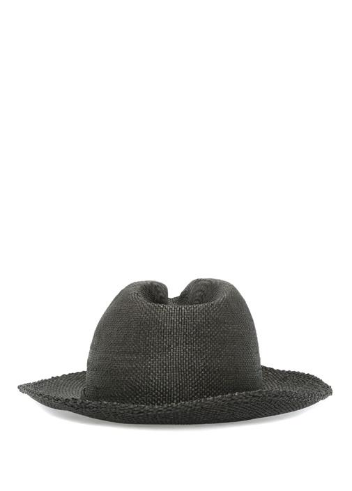 Siyah Logo Bantlı Erkek Şapka