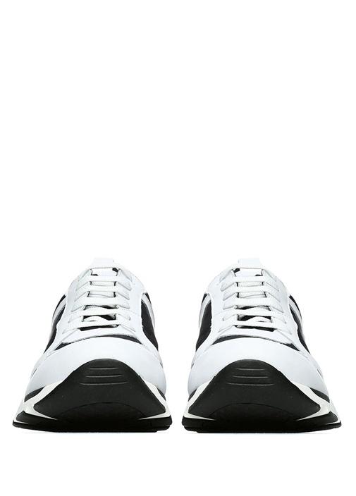 Hydro Michael Siyah Beyaz Kadın Keten Sneaker