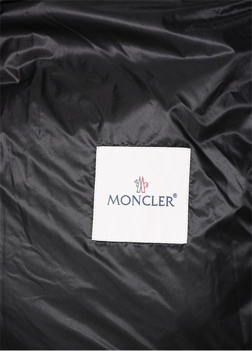 Neveu Siyah Logo Şeritli Puff Mont