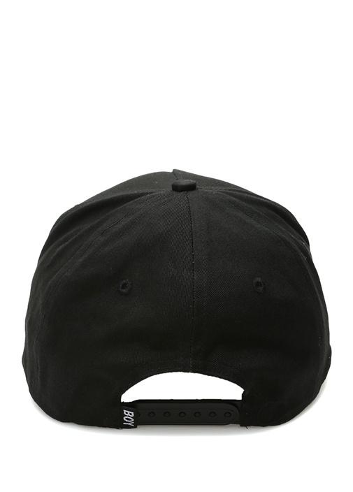 Boy Eagle Siyah Nakışlı Erkek Şapka