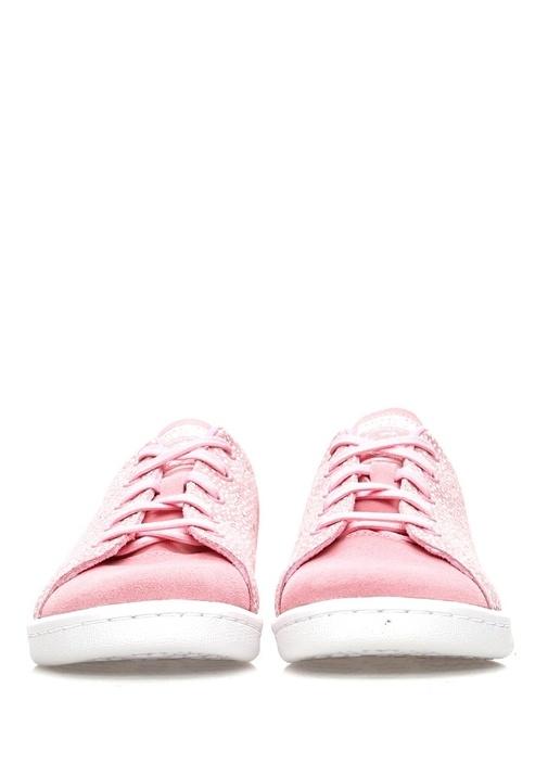 Stan Smith Pembe Desenli Unisex Çocuk Sneaker