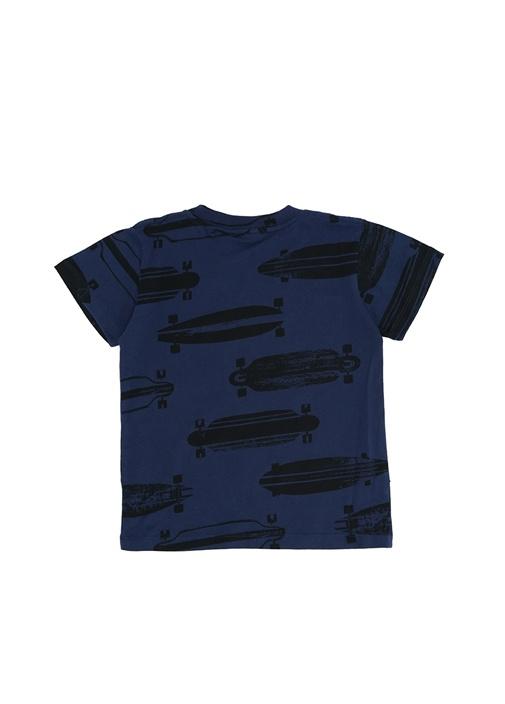 Raymont Lacivert Baskılı Erkek Çocuk T-shirt