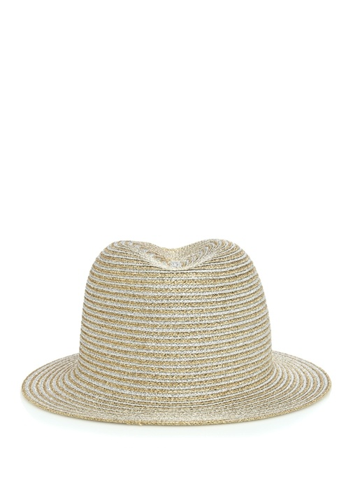 Gold Silver Sim Dokulu Kadın Şapka