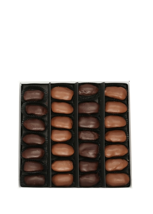 Portakal Ve Bademli 500 gr Hurmalı Çikolata