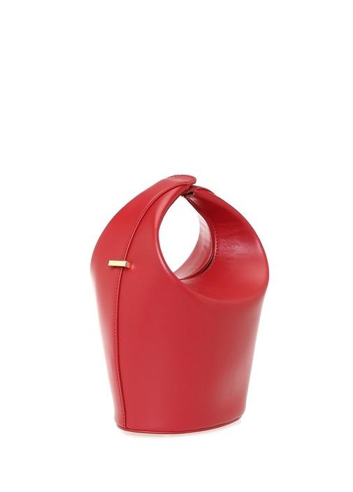 Kalea Kırmızı Kadın Deri Omuz Çantası