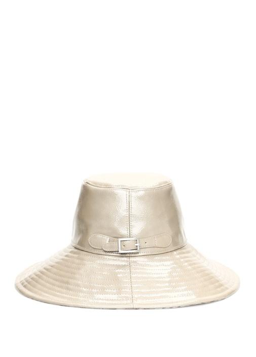 Vizon Dikiş Detaylı Kadın Şapka