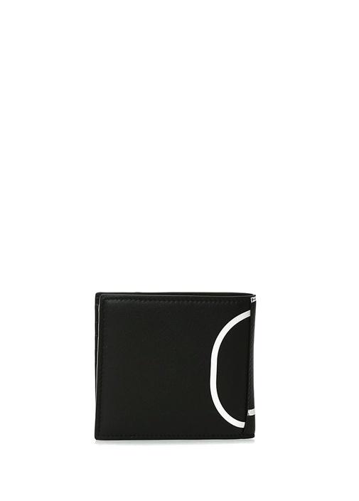 Vring Siyah Logolu Erkek Deri Cüzdan