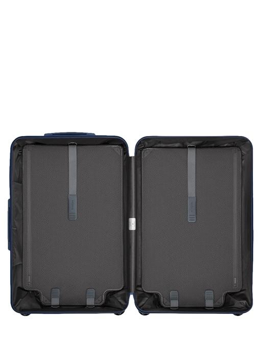 Essential Check In Large Mavi Erkek Bavul