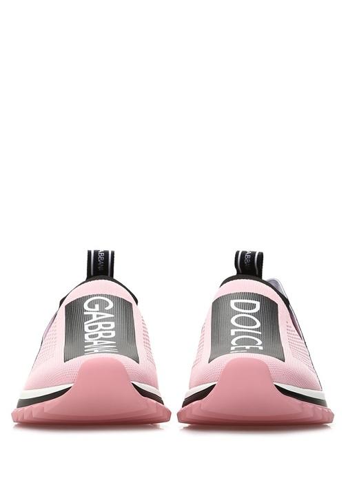 Sorrento Pembe Logo Bantlı Kadın Sneaker