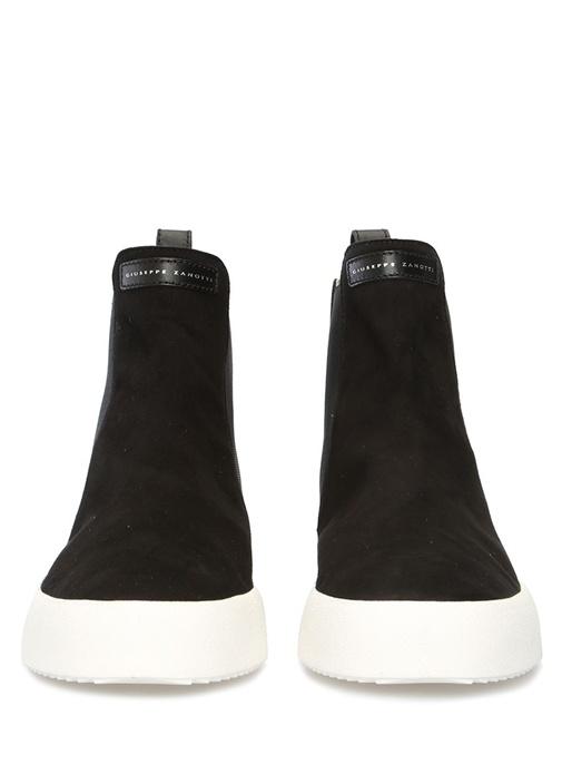 Rudy Siyah Logolu Erkek Süet Sneaker