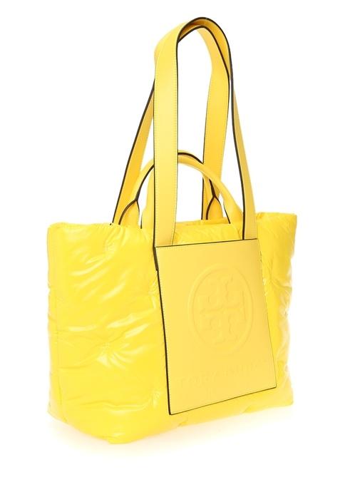 Perry Sarı Logolu Alışveriş Çantası