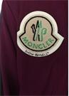 8 Moncler Palm Angels Mor Fermuarlı Sweatshirt