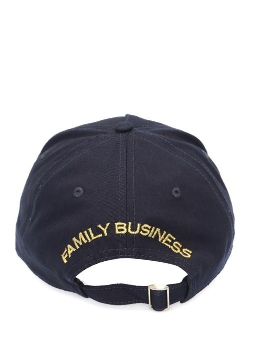 Lacivert Logo Patchli Erkek Şapka