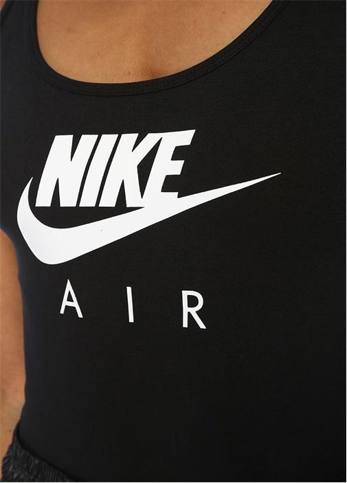 Air Siyah Logo Baskılı Body