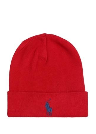Polo Ralph Lauren Erkek Kırmızı Logo Nakışlı Bere EU male Standart