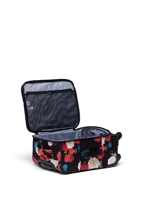 Highland Carry On Siyah Çiçek Desenli Erkek Bavul