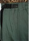 Dawn Till Dusk Oversize Yeşil Kemerli Pantolon