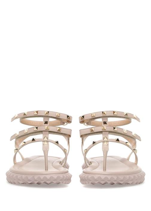 Valentino Garavani Pudra Kadın Deri Sandalet