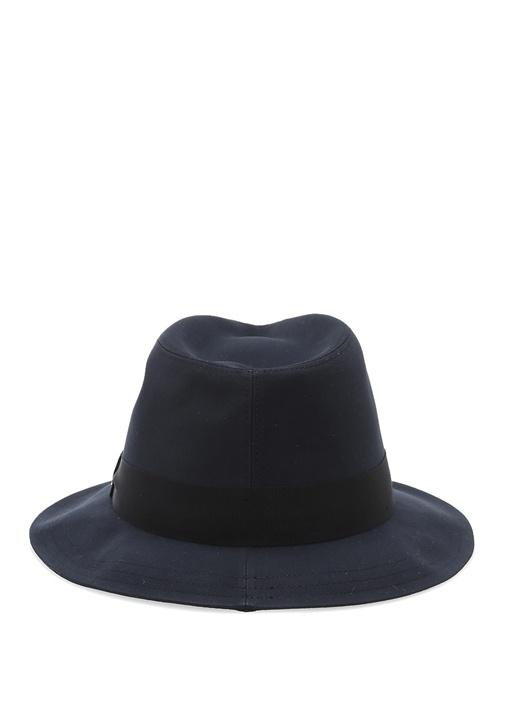 Lacivert Şeritli Erkek Şapka