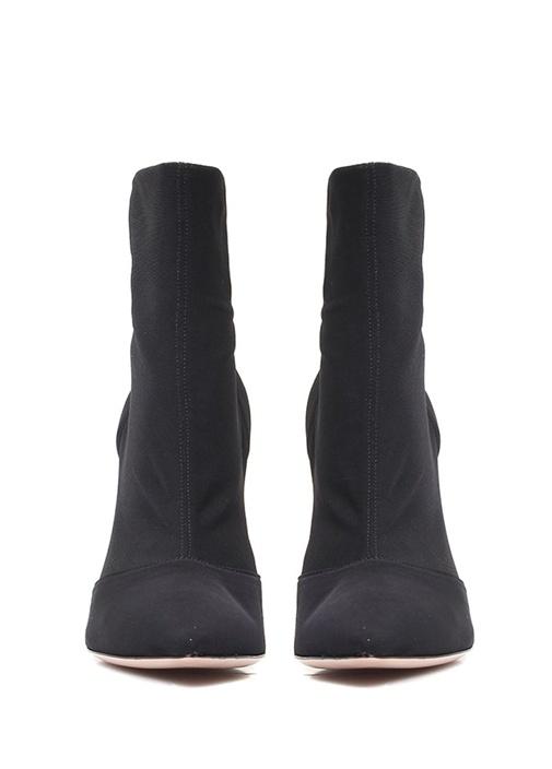 Siyah Çorap Formlu Kadın Bot