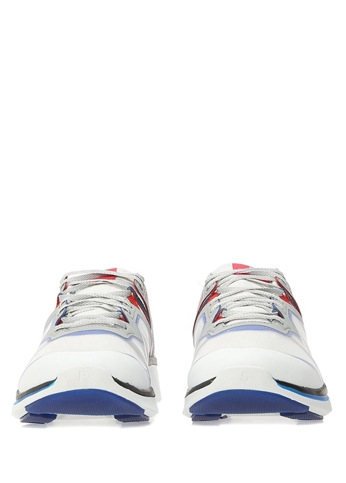 Nestor Beyaz İnce Şeritli Erkek Sneaker