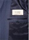 Drop 7 Lacivert Çizgili Soft Yün Takım Elbise