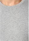 3lü Siyah Beyaz Gri Basic T-shirt Seti
