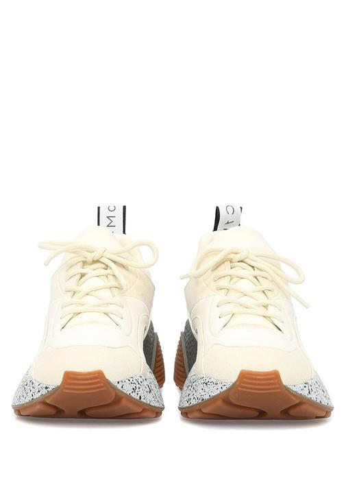 Eclypse Ekru Taban Detaylı Kadın Sneaker