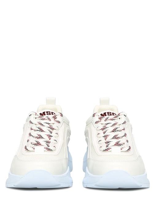 College Beyaz Kadın Deri Sneaker