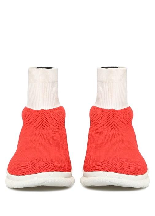 Waves Kırmızı Çorap Formlu Kadın Sneaker