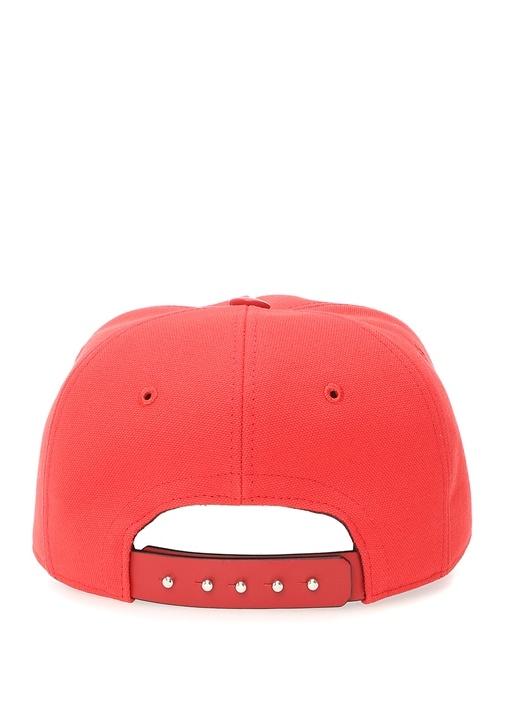 Kırmızı Logolu Erkek Şapka