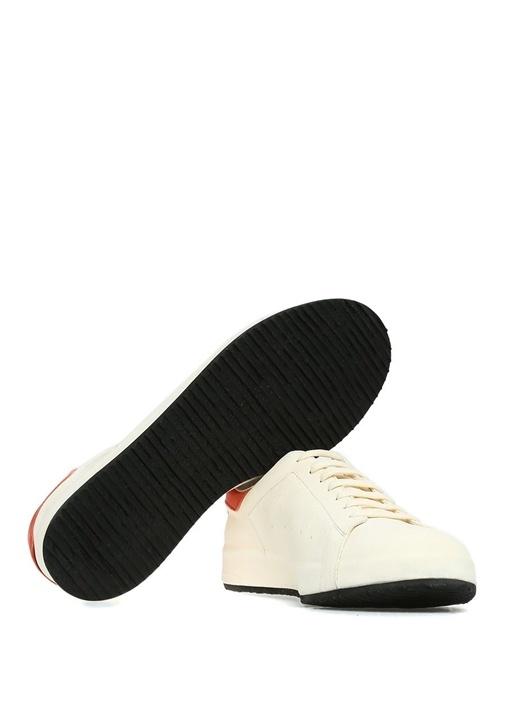 Ace Kırmızı Beyaz Erkek Deri Sneaker