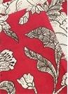 Lilium 6lı Fuşya Desenli Keten Peçete Seti