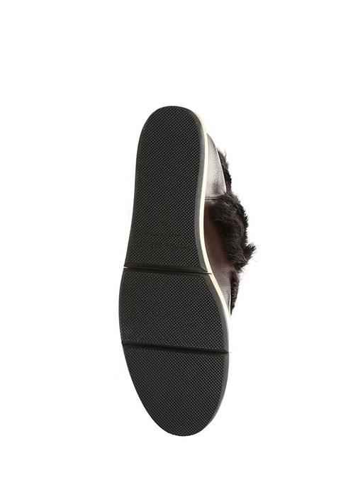 Vilma Kahverengi Gizli Topuklu Kadın Deri Bot